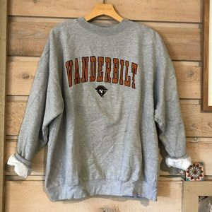 Vintage Vanderbilt college sweatshirt size XL
